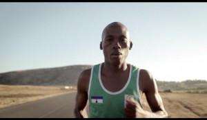 LESOTHO OLYMPIC RUNNER